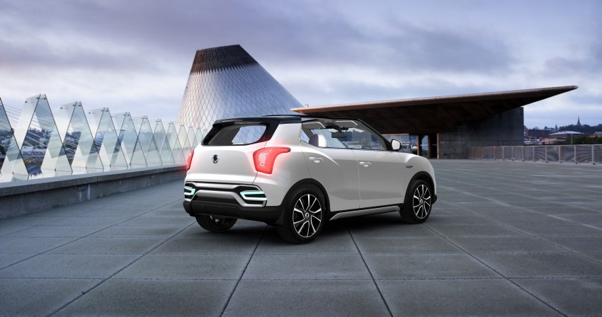 SsangYong XIV-Air and XIV-Adventure debut in Paris Image #277663