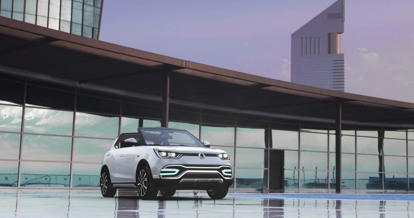 SsangYong XIV-Air and XIV-Adventure debut in Paris Image #277665