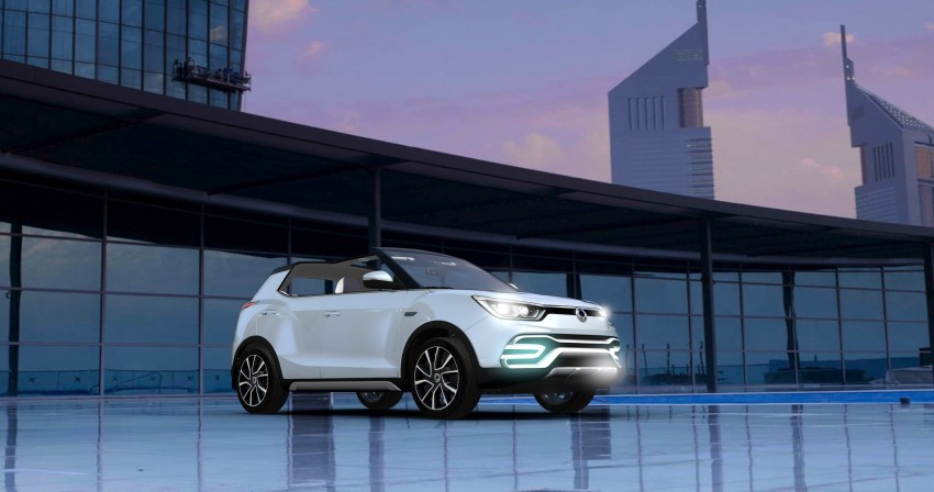 SsangYong XIV-Air and XIV-Adventure debut in Paris Image #277666