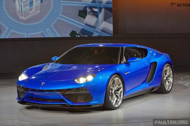 Lamborghini Asterion LPI910,4 concept revealed