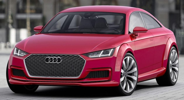 2020 Audi Q1 Release Date, Concept, Price, And Specs >> Audi Tt Sportback Gets Green Light To Debut By 2020