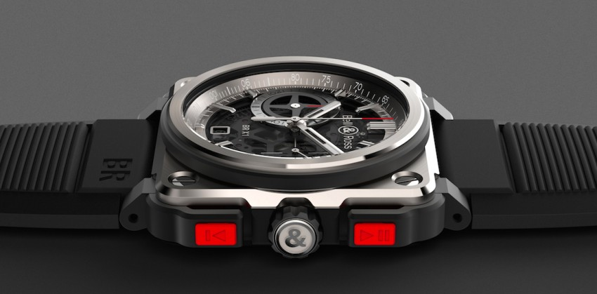 Bell and Ross BR-X1 Skeleton Chronograph – a limited edition horological tribute to supersonic speeds Image #283912