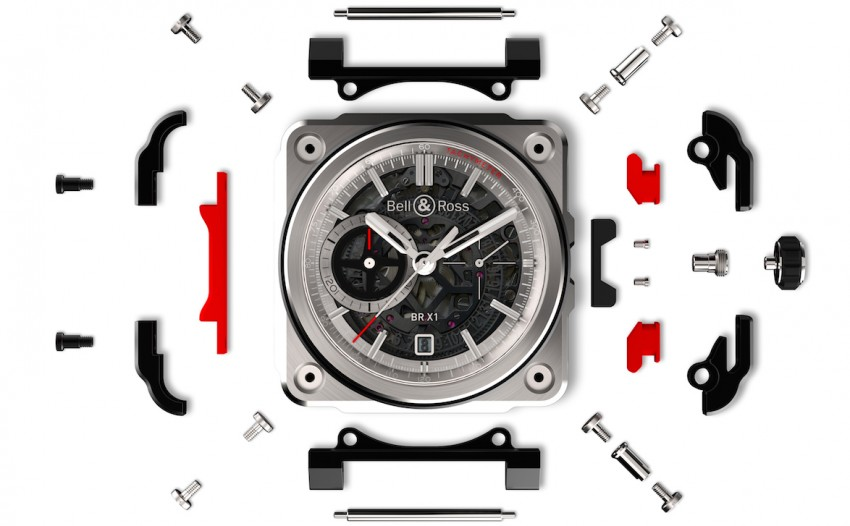 Bell and Ross BR-X1 Skeleton Chronograph – a limited edition horological tribute to supersonic speeds Image #283913