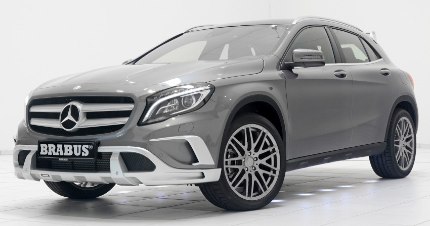 Brabus Tunes Mercedes Benz Gla Class Up To 400 Hp Paul Tan Image
