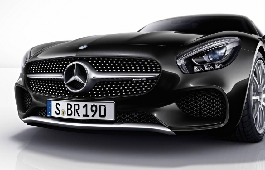 Mercedes-AMG GT gets Silver Chrome and Carbon styling packages – no performance enhancements Image #280543