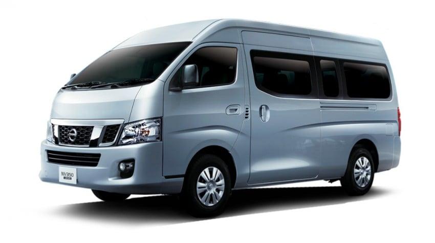 Nissan NV350 Urvan 14-seater van launched – RM110k Paul ...