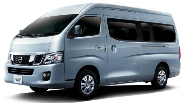 Nissan Nv350 Urvan Launched Priced At Rm110k Otr