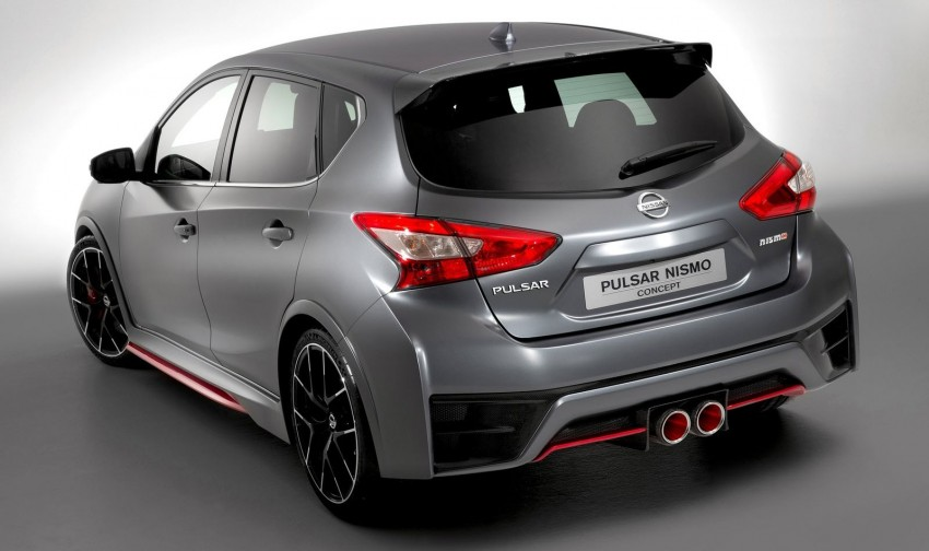 Nissan Pulsar Nismo Concept unveiled at Paris show – one step closer to taking on the Golf GTI Image #277640