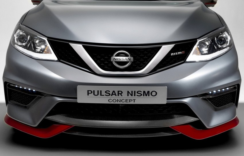 Nissan Pulsar Nismo Concept unveiled at Paris show – one step closer to taking on the Golf GTI Image #277633