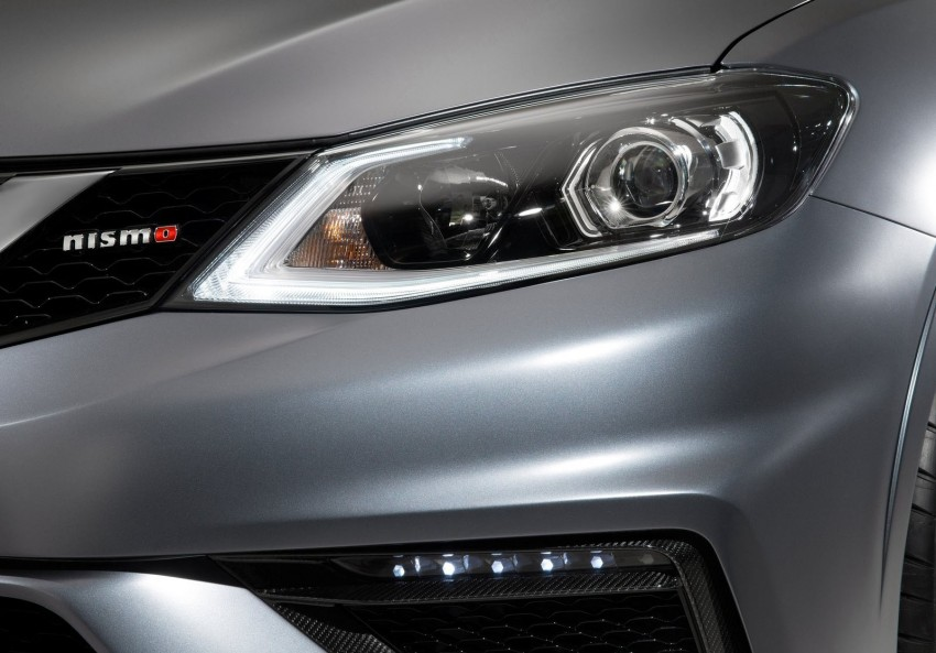 Nissan Pulsar Nismo Concept unveiled at Paris show – one step closer to taking on the Golf GTI Image #277635