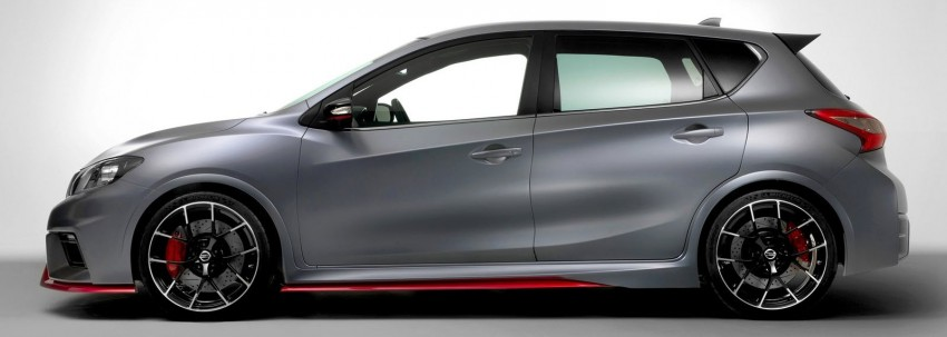 Nissan Pulsar Nismo Concept unveiled at Paris show – one step closer to taking on the Golf GTI Image #277638