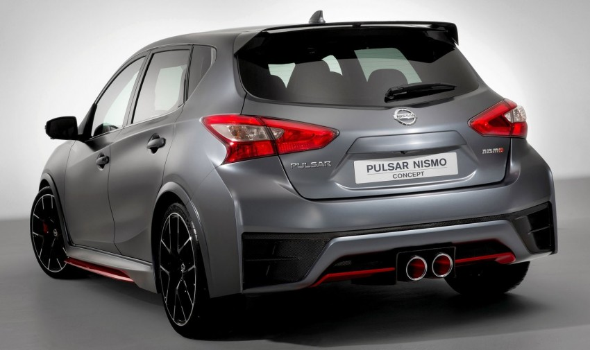 Nissan Pulsar Nismo Concept unveiled at Paris show – one step closer to taking on the Golf GTI Image #277639