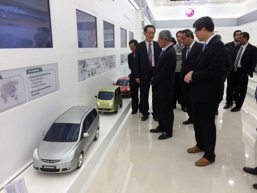 Proton Iriz EV prototype in Korea, developed with LG! Image #276812