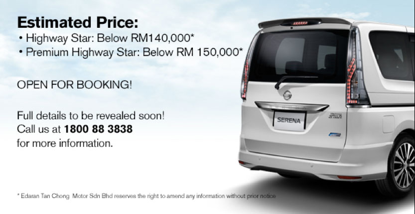 Nissan Serena S-Hybrid Facelift open for booking – now CKD with LED headlamps, below RM140k Image #282472