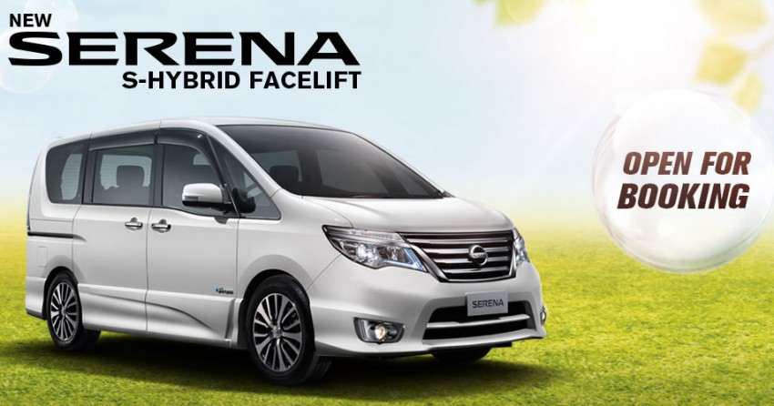 Nissan Serena S-Hybrid Facelift open for booking – now CKD with LED headlamps, below RM140k Image #282470