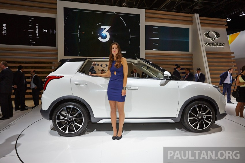 SsangYong XIV-Air and XIV-Adventure debut in Paris Image #277937