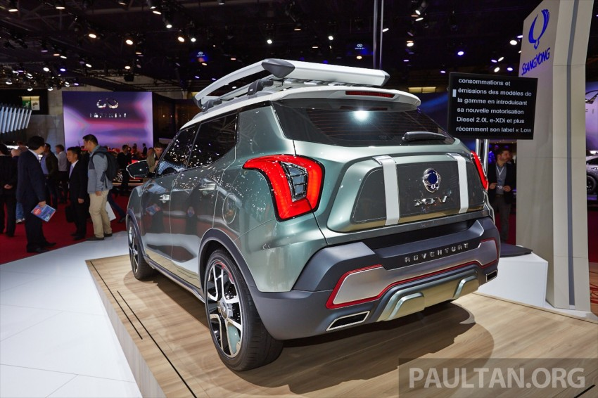 SsangYong XIV-Air and XIV-Adventure debut in Paris Image #277934