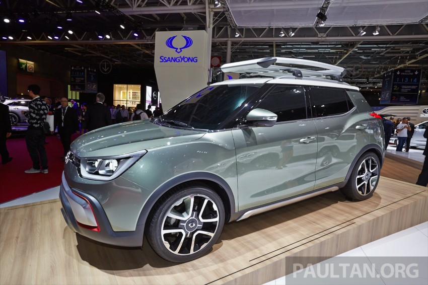 SsangYong XIV-Air and XIV-Adventure debut in Paris Image #277936