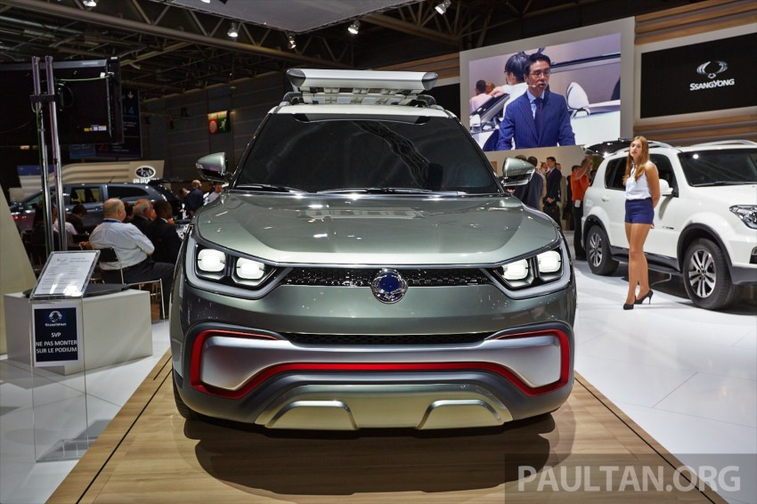 SsangYong XIV-Air and XIV-Adventure debut in Paris Image #277927