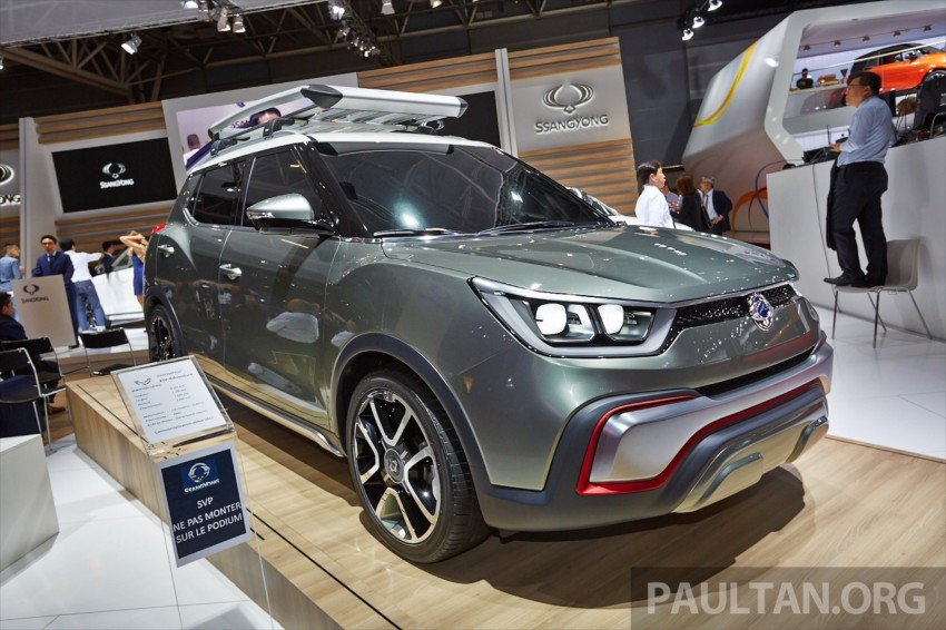 SsangYong XIV-Air and XIV-Adventure debut in Paris Image #277928