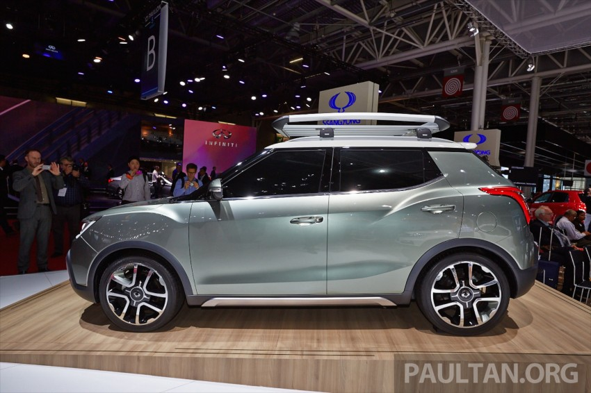 SsangYong XIV-Air and XIV-Adventure debut in Paris Image #277929