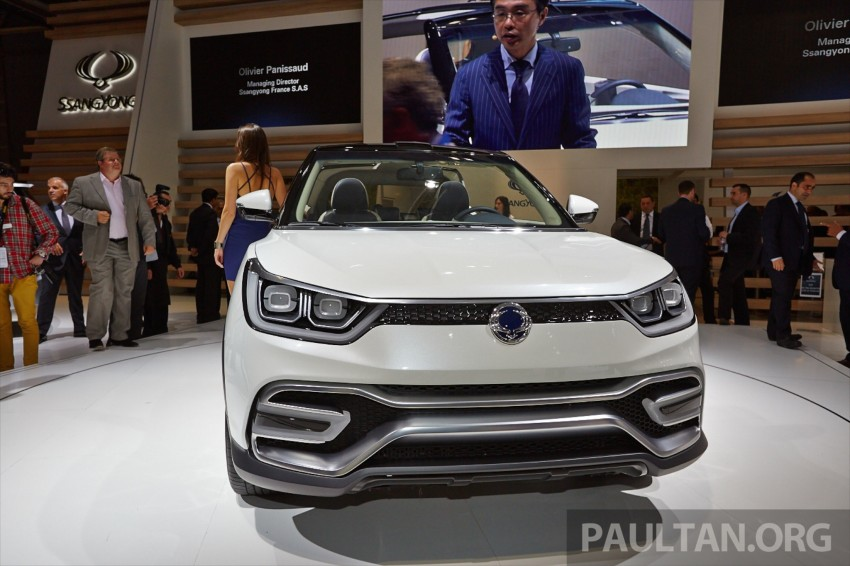 SsangYong XIV-Air and XIV-Adventure debut in Paris Image #277939