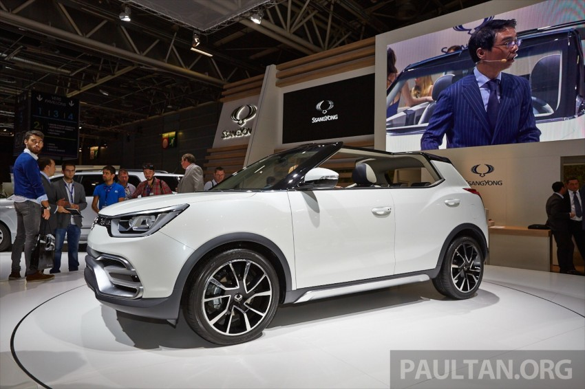 SsangYong XIV-Air and XIV-Adventure debut in Paris Image #277941