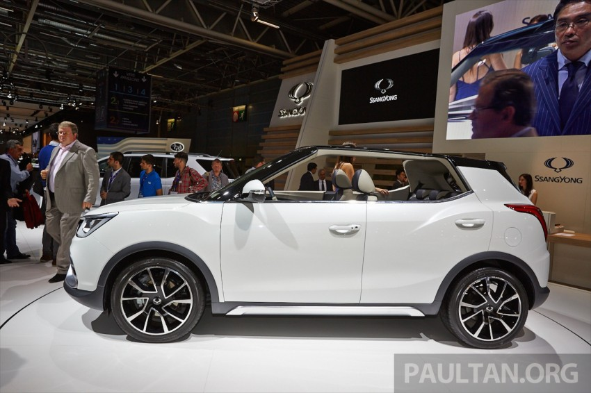 SsangYong XIV-Air and XIV-Adventure debut in Paris Image #277942