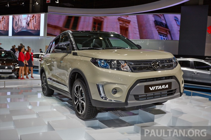 Suzuki Vitara – B-segment SUV fully unveiled in Paris Image #277543
