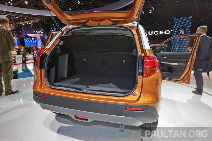 Suzuki Vitara – B-segment SUV fully unveiled in Paris Image #277535