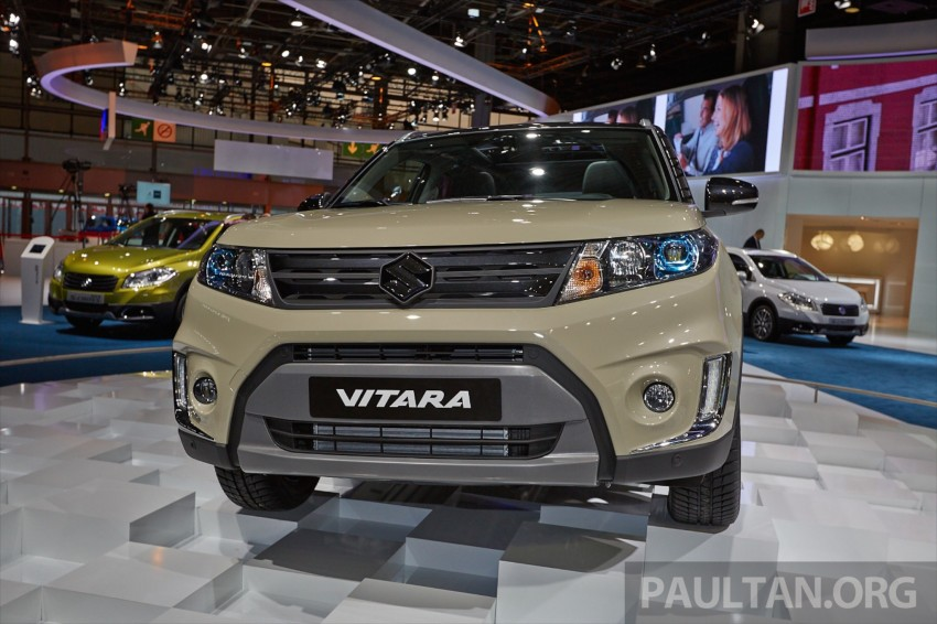 Suzuki Vitara – B-segment SUV fully unveiled in Paris Image #277544