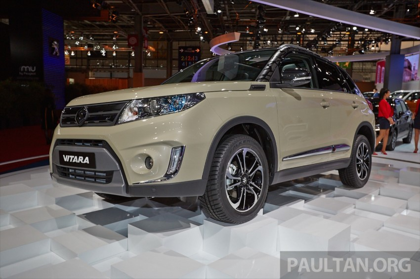 Suzuki Vitara – B-segment SUV fully unveiled in Paris Image #277545