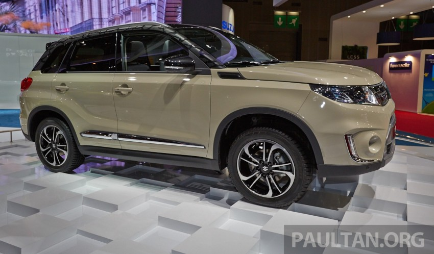 Suzuki Vitara – B-segment SUV fully unveiled in Paris Image #277537