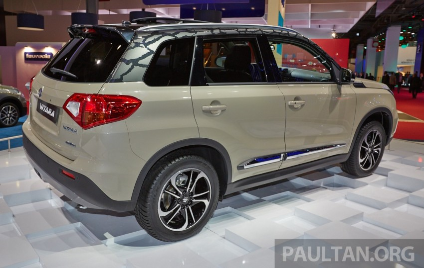 Suzuki Vitara – B-segment SUV fully unveiled in Paris Image #277538