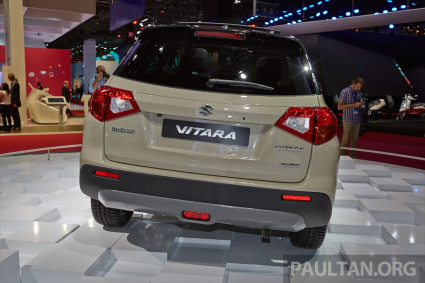 Suzuki Vitara – B-segment SUV fully unveiled in Paris Image #277539