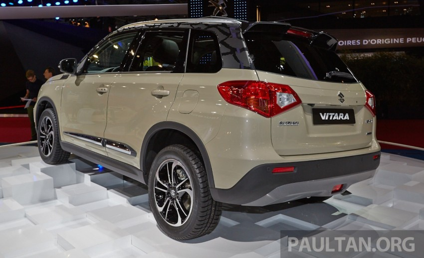 Suzuki Vitara – B-segment SUV fully unveiled in Paris Image #277540