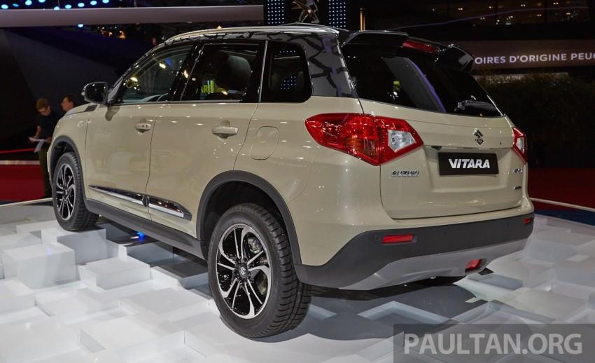 Suzuki Vitara – B-segment SUV fully unveiled in Paris Image #277540