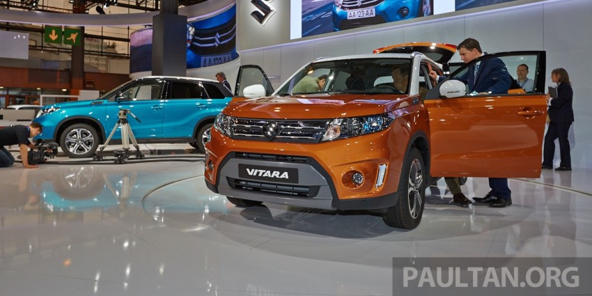 Suzuki Vitara – B-segment SUV fully unveiled in Paris Image #277541