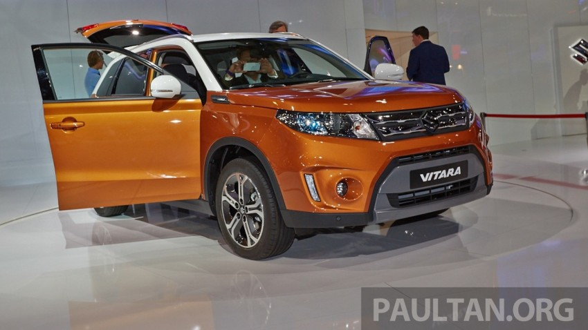 Suzuki Vitara – B-segment SUV fully unveiled in Paris Image #277542