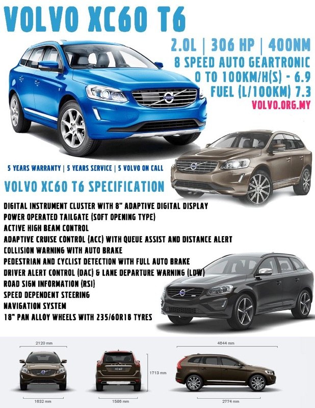 Volvo Xc60 T6 Arriving Soon With 306 Hp And 400 Nm Paul Tan Image 280926