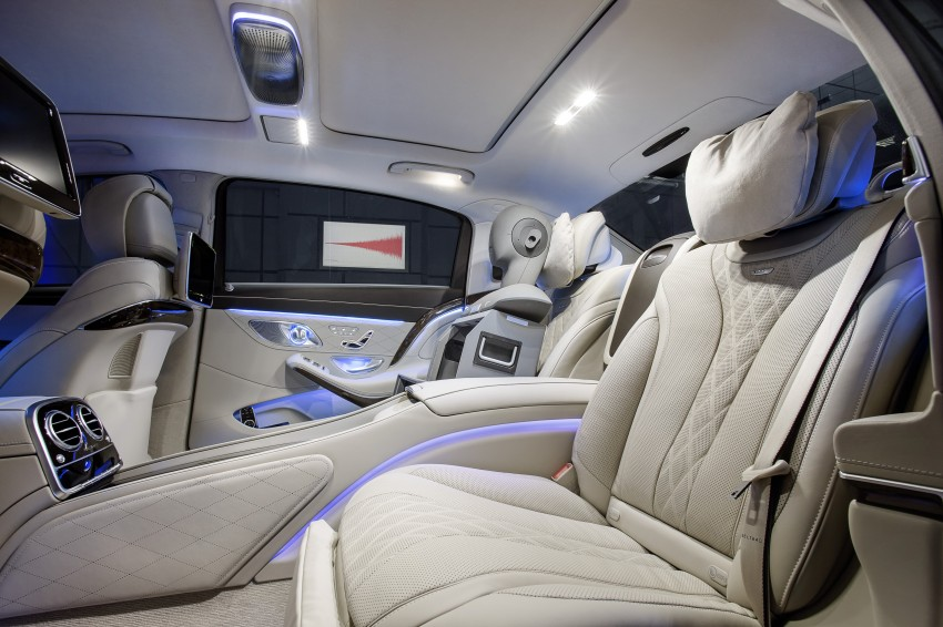 Mercedes-Maybach S 600 – all about the wheelbase! Image #289424
