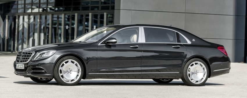 Mercedes-Maybach S 600 – all about the wheelbase! Image #289412