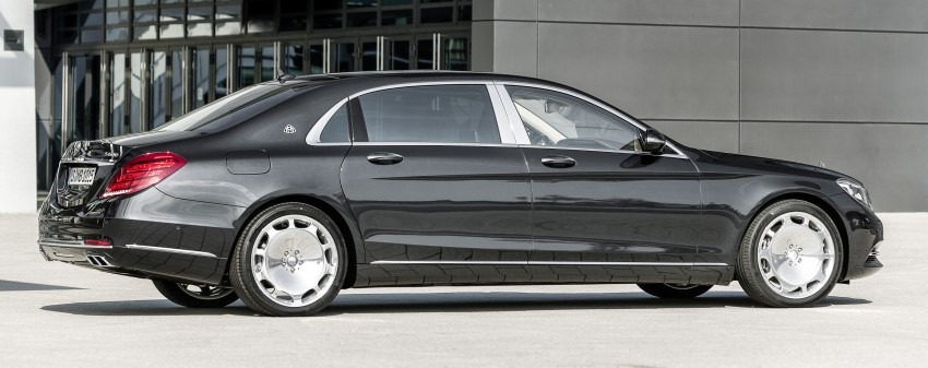 Mercedes-Maybach S 600 – all about the wheelbase! Image #289414
