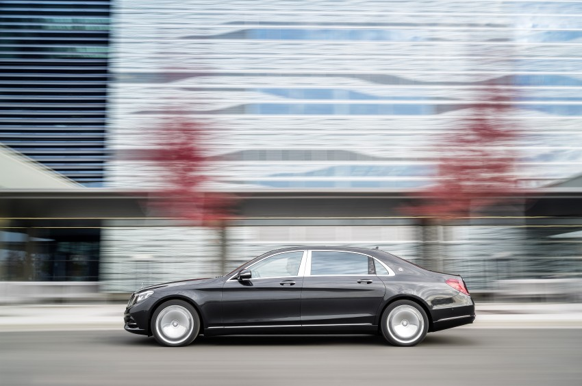 Mercedes-Maybach S 600 – all about the wheelbase! Image #289394