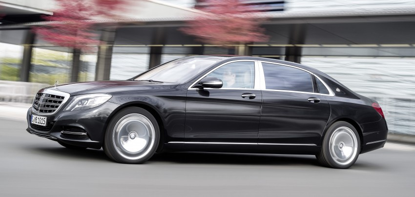 Mercedes-Maybach S 600 – all about the wheelbase! Image #289411