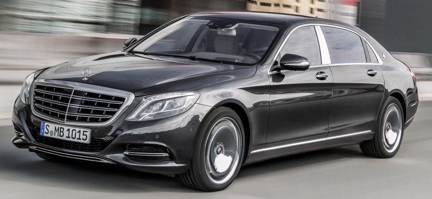 Mercedes-Maybach S 600 – all about the wheelbase! Image #289416