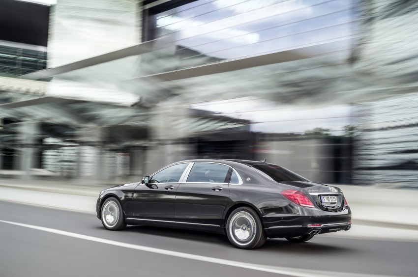 Mercedes-Maybach S 600 – all about the wheelbase! Image #289403