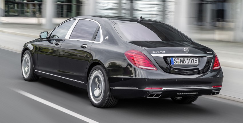 Mercedes-Maybach S 600 – all about the wheelbase! Image #289408