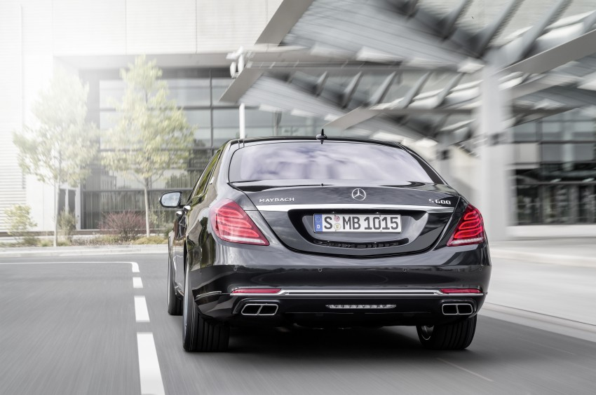 Mercedes-Maybach S 600 – all about the wheelbase! Image #289402