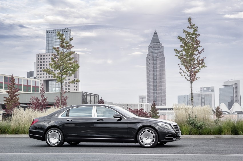 Mercedes-Maybach S 600 – all about the wheelbase! Image #289386
